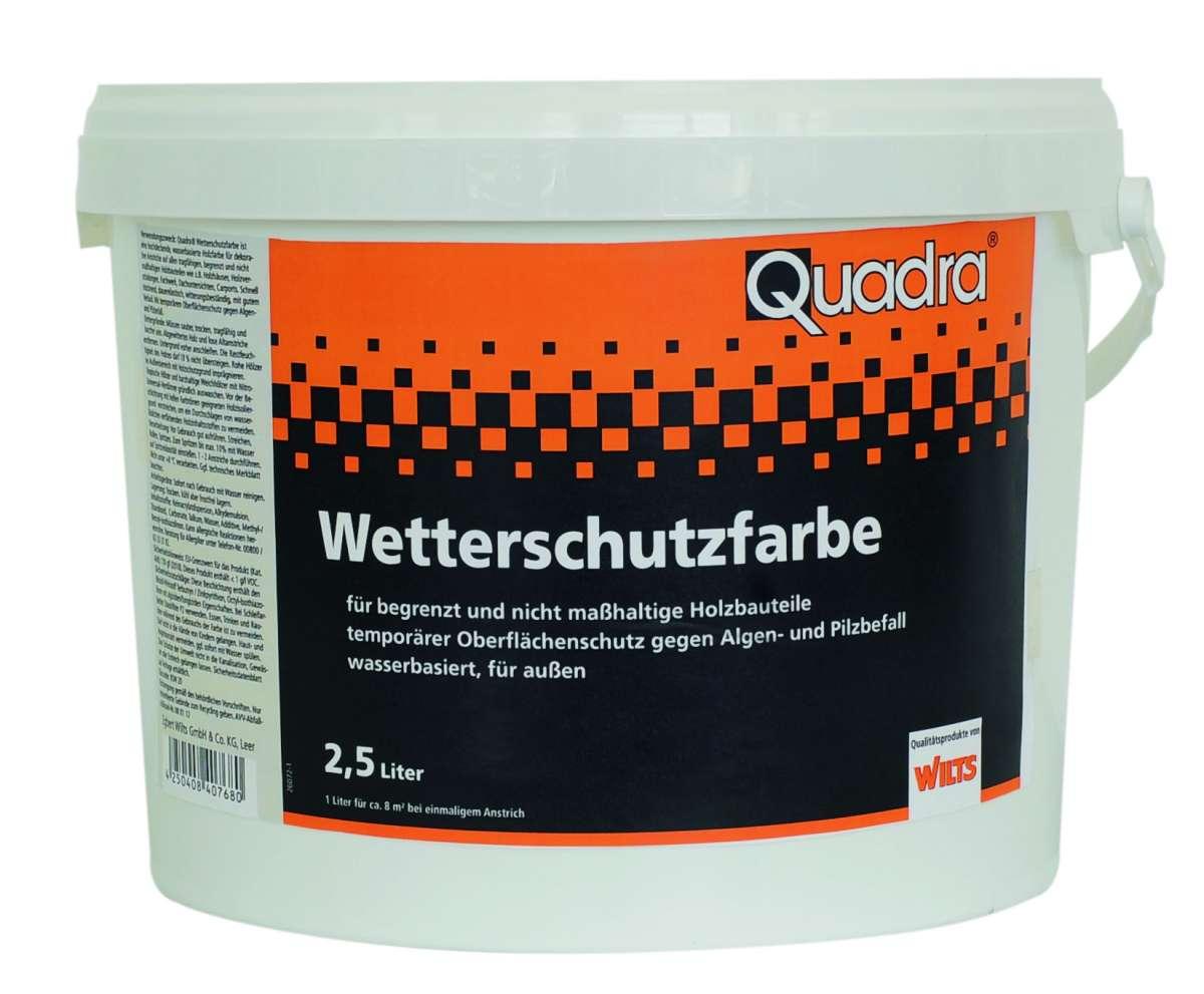 Sehr Quadra Wetterschutzfarbe | DEINE-FARBE24 FK54