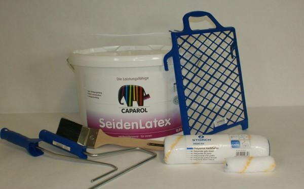 Farben - Set für den Renovierungsanstrich von bis zu 80m²